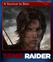 A Survivor Is Born (Trading Card)