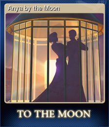 Anya by the Moon (Trading Card)