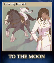 Horsing Around (Trading Card)