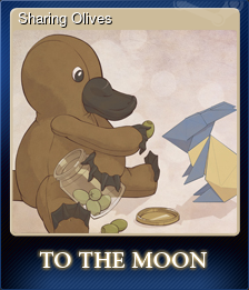 Sharing Olives (Trading Card)