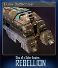Dunov Battlecruiser