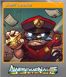 Sheriff Lonestar (Foil)