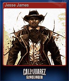 Jesse James (Trading Card)