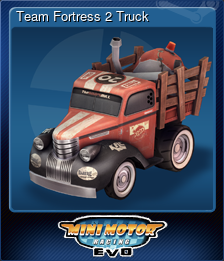 Team Fortress 2 Truck (Trading Card)