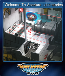 Welcome To Aperture Laboratories