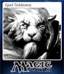 Ajani Goldmane (Trading Card)