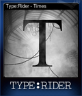 Type:Rider - Times