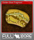 Golden Boar Fragment