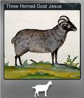 Three Horned Goat Jesus