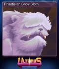 Phantisian Snow Sloth