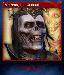 Mathras, the Undead
