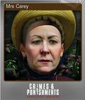 Mrs Carey