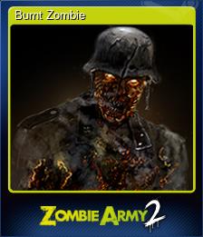 Burnt Zombie