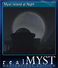 Myst Island at Night