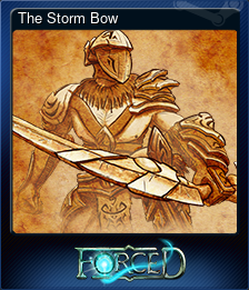 The Storm Bow (Trading Card)