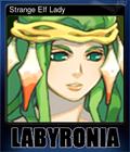 Strange Elf Lady