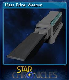 Mass Driver Weapon