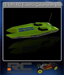 1/10th RC Electric Catamaran Boat