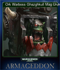 Ork Warboss Ghazghkull Mag Uruk Thraka