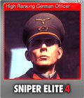 High Ranking German Officer