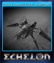 "Heavy Assault Plane ""SuperNova"""