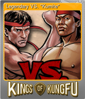 "Legendary VS. ""Kumite"""