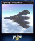 Fighting Thunder Blue