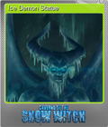Ice Demon Statue