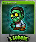 Zombie human