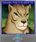 Eskandar, Pride of the Barek Tor