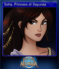 Soha, Princess of Sayunaa