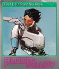 First Lieutenant Nia Rhys