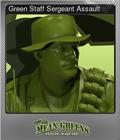 Green Staff Sergeant Assault
