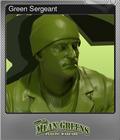 Green Sergeant