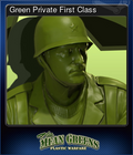Green Private First Class