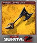 Weapon: Voodoo Guitar