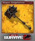 Weapon: Sledgehammer