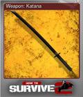 Weapon: Katana