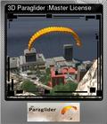 3D Paraglider :Master License