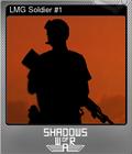 LMG Soldier #1