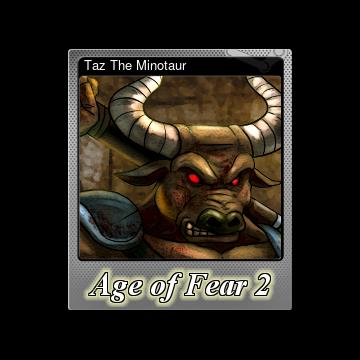 Steam Community Market Listings For 341150 Taz The Minotaur Foil