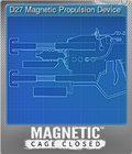 D27 Magnetic Propulsion Device