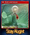 Mr. Bulb and leaves