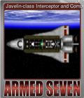 Javelin-class Interceptor and Combat Space Shuttle