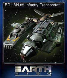 ED | AN-85 Infantry Transporter