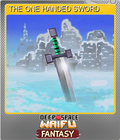 THE ONE HANDED SWORD