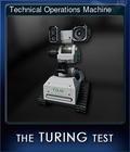 Technical Operations Machine
