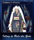 Goddess in Kimono