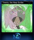 Triesta, the Harp Scribe