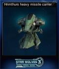 Hrimthurs heavy missile carrier